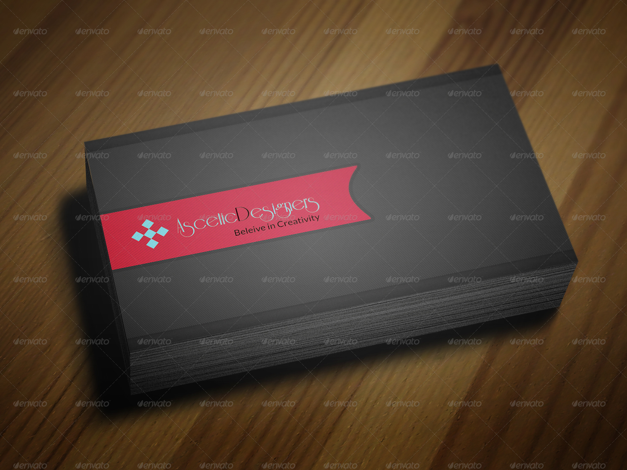 Simple creative business card vol 4 by asceticdesigners for Creative simple