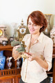 Woman polishing antiques - PhotoDune Item for Sale