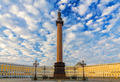 A beautiful morning sky over Palace Square, Saint-Petersburg, Ru - PhotoDune Item for Sale