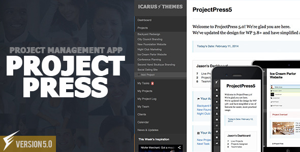 ProjectPress :: Project Management for Wordpress
