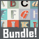 Vintage Text Styles Bundle - GraphicRiver Item for Sale
