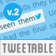 Tweetable Shortcode v.2 - Quick Tweet Sentences