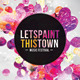 Futuristic Abstract Flyer - Lets Paint This Town  - GraphicRiver Item for Sale
