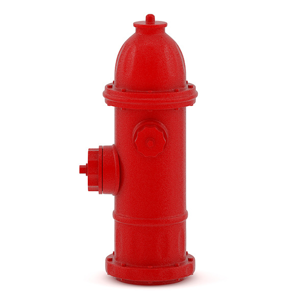 Street Hydrant - 3DOcean Item for Sale