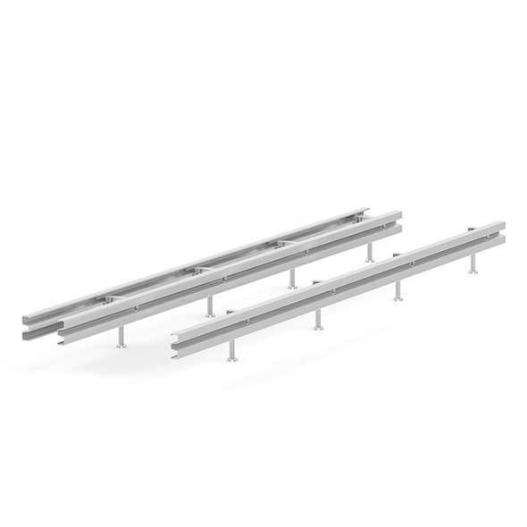 Highway Metal Barriers - 3DOcean Item for Sale