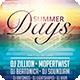 Summer Days Flyer - GraphicRiver Item for Sale