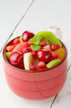 Red cup with fruits - PhotoDune Item for Sale
