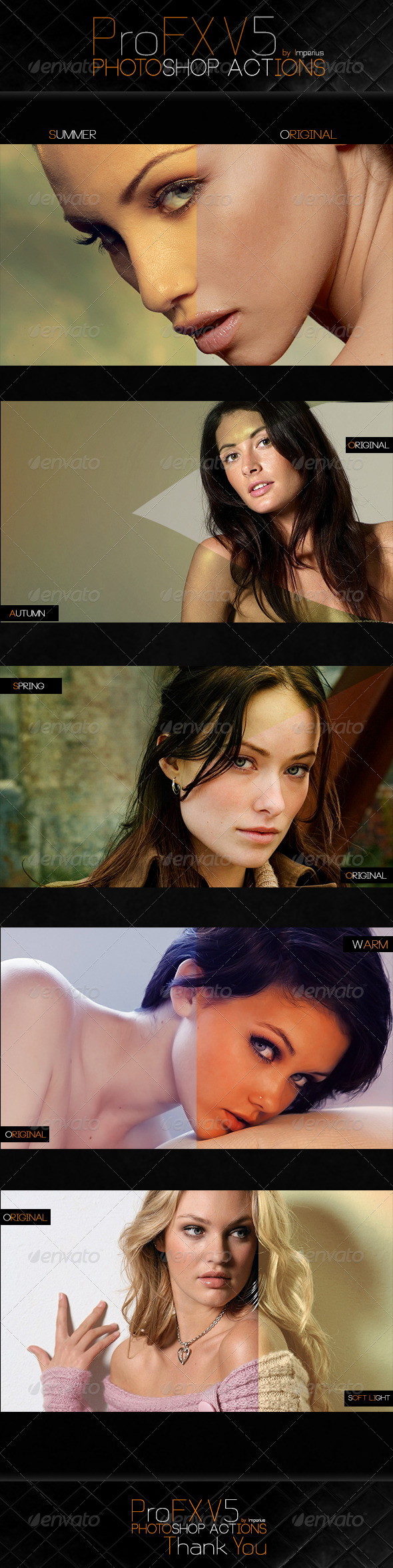 ProFX V5 Actions - Actions Photoshop