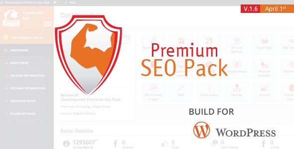 Premium SEO Pack Wordpress Plugin