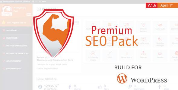 Premium SEO Pack – WordPress Plugin - CodeCanyon Item for Sale