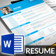 MS Word Resume Pack - GraphicRiver Item for Sale