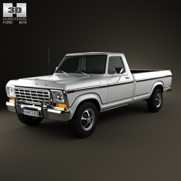 Ford F150 1978 - 3DOcean Item for Sale