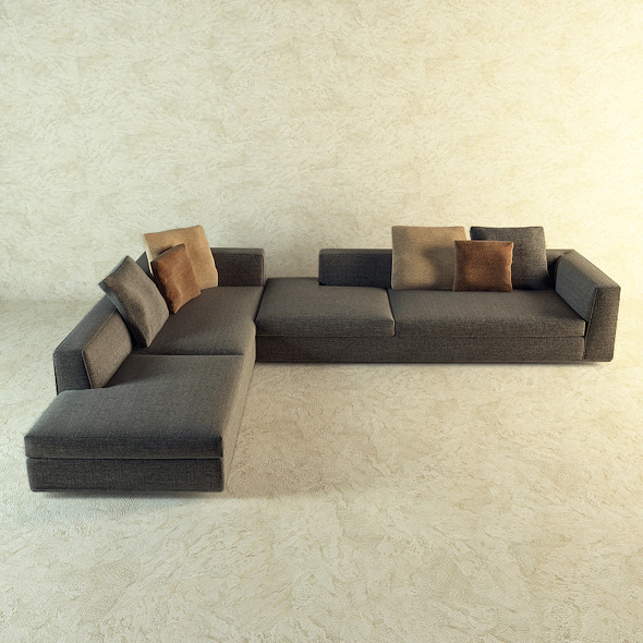 Corner sofa by Minotti
