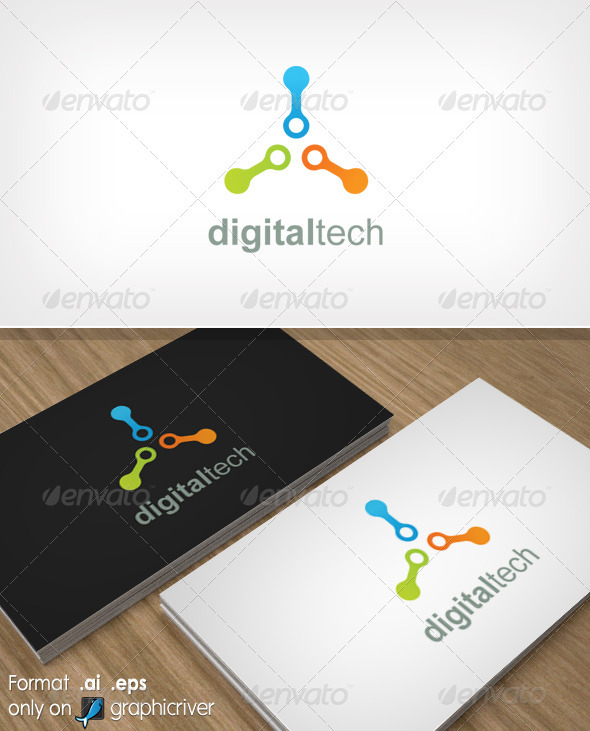 Digitaltech - Abstract Logo Templates