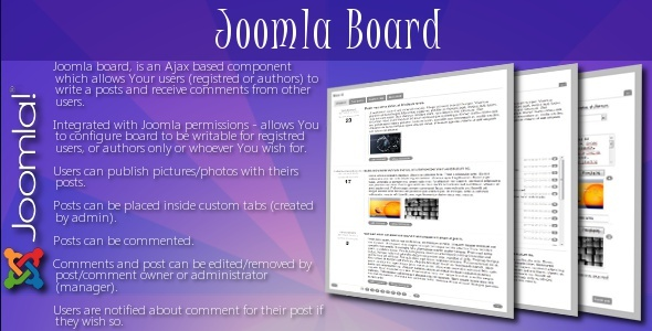 CodeCanyon Joomla Board 236235