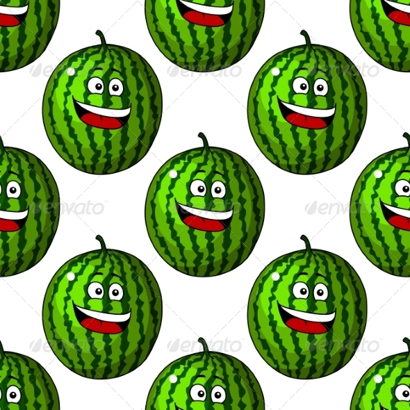 Happy Laughing Watermelon Fruits