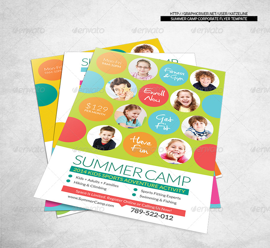 Summer Camp Flyer Gerhard Leixl