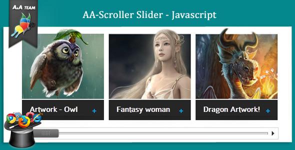 CodeCanyon AA-Scroller Slider Javascript 761996