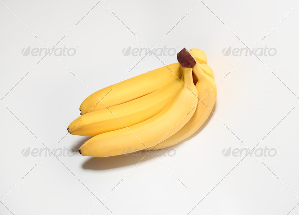 A Lovely Bunch of Bananas - Stock Photo - Images