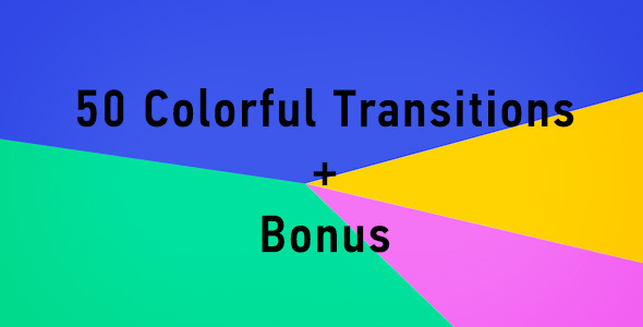 50 Colorful Transitions