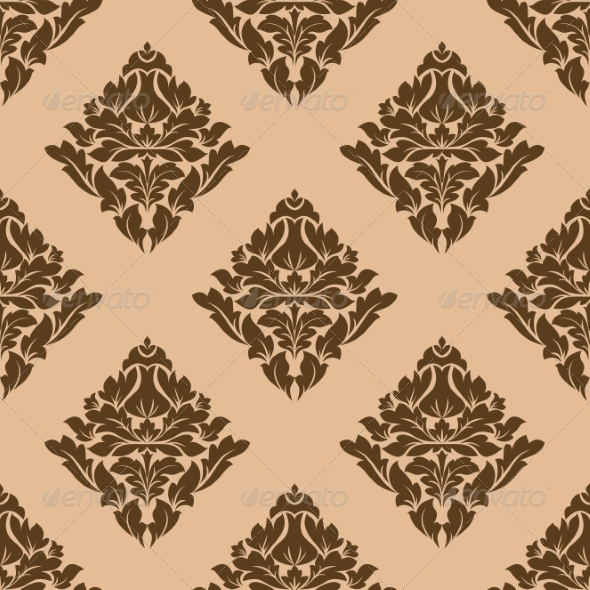 Floral Motif Arabesque Pattern