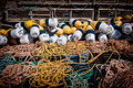 Lobster traps, floats and rope - PhotoDune Item for Sale