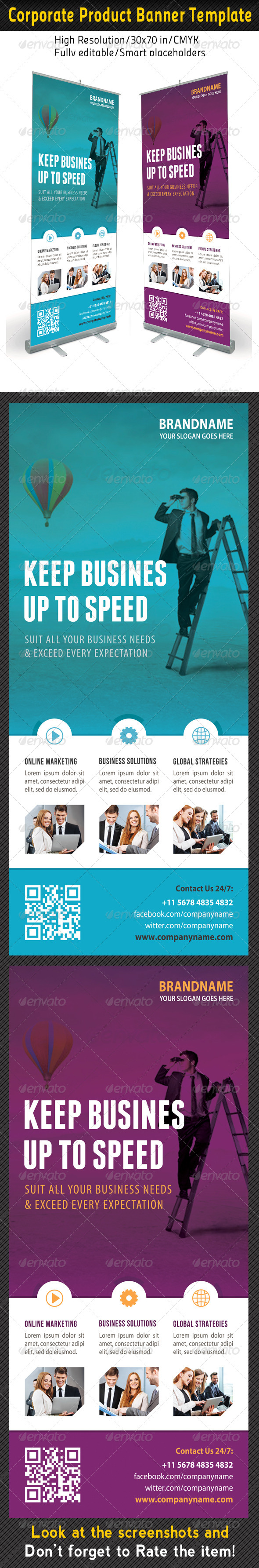 Corporate Multipurpose Banner Template 62