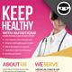 Happy Medical Flyer - GraphicRiver Item for Sale