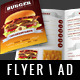 Fast Food / Restaurant Flyer - GraphicRiver Item for Sale