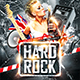 Hard Rock Party Flyer - GraphicRiver Item for Sale