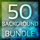 50 Background Bundle - GraphicRiver Item for Sale