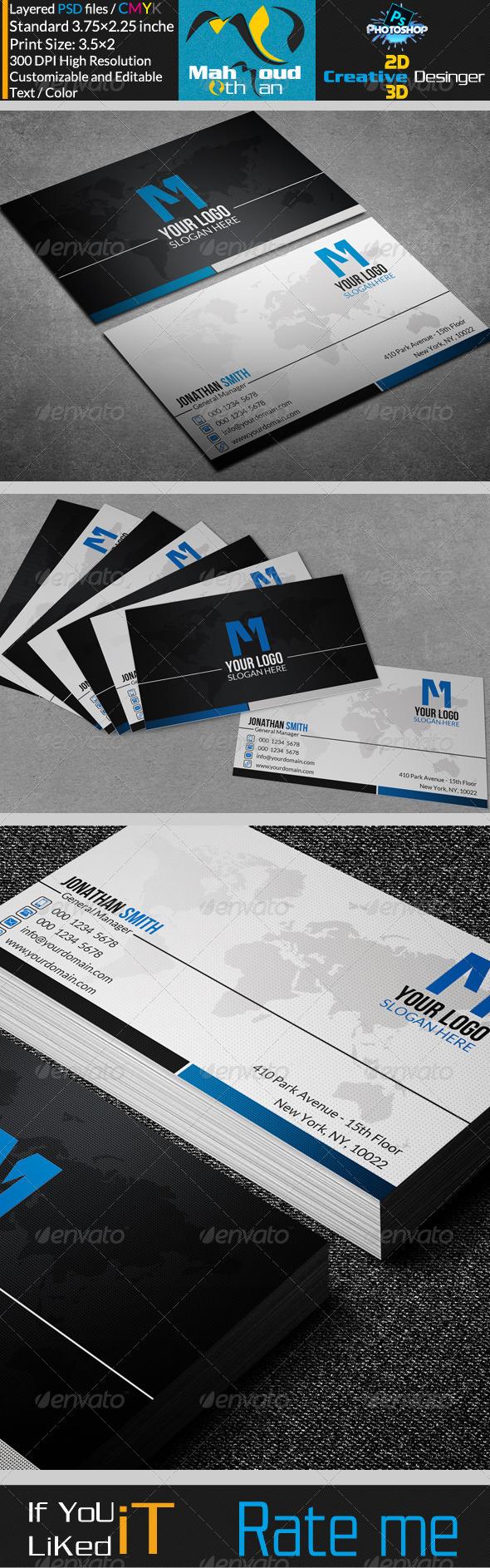 Corporate Business Card 06
