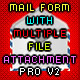 Multiple File Attachments Mail Form PRO-V2 - ActiveDen Item for Sale