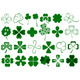 Set of Different Clovers Set - GraphicRiver Item for Sale