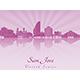 San Jose Skyline - GraphicRiver Item for Sale