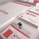 Red Boxer Corporate Identity - GraphicRiver Item for Sale