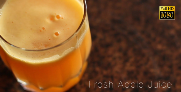 Fresh Apple Juice 4