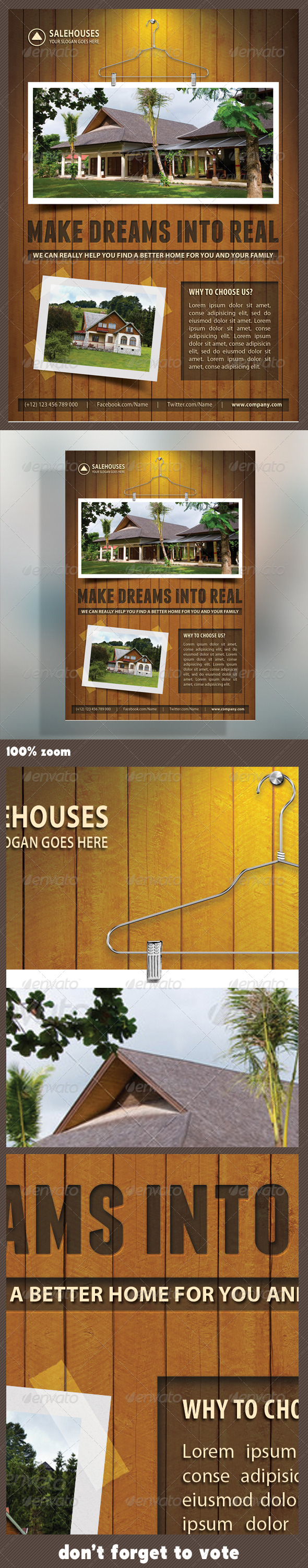 Real Estate Corporate Flyer 14 - Flyers Print Templates