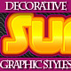 Set of Colorful Various Graphic Styles - GraphicRiver Item for Sale