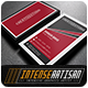 IntenseArtisan Business Card Vol.49 - GraphicRiver Item for Sale