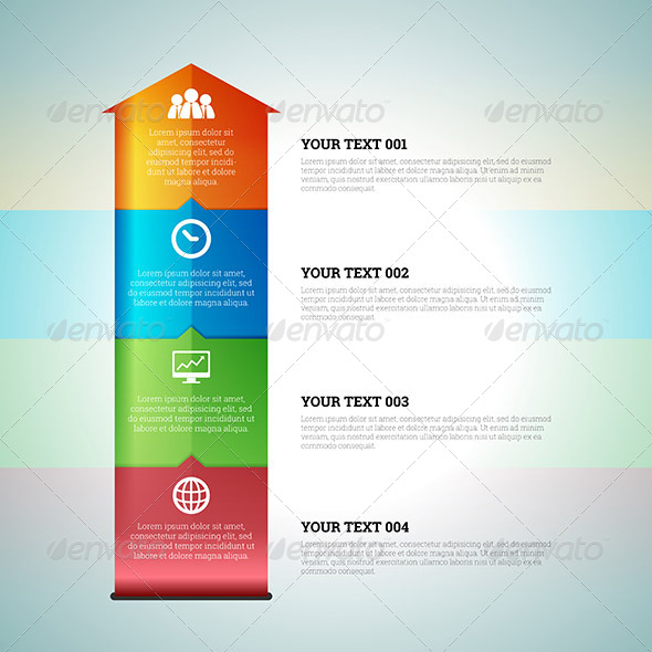 GraphicRiver Arrow Chart Graphic Infographic Elements 7369721