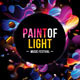 Futuristic Abstract Flyer - Paint of Light - GraphicRiver Item for Sale
