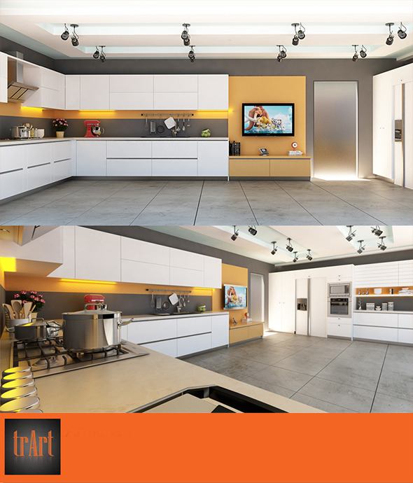 3DOcean Kitchen Interior01 7371216