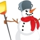 Snowman with Scarf - GraphicRiver Item for Sale