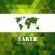 Abstract green Earth mosaic background - GraphicRiver Item for Sale