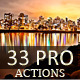 33 Pro Actions