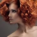 Fashion Portrait. Beautiful Woman. Curly Hair. - PhotoDune Item for Sale