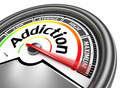 addiction conceptual meter - PhotoDune Item for Sale