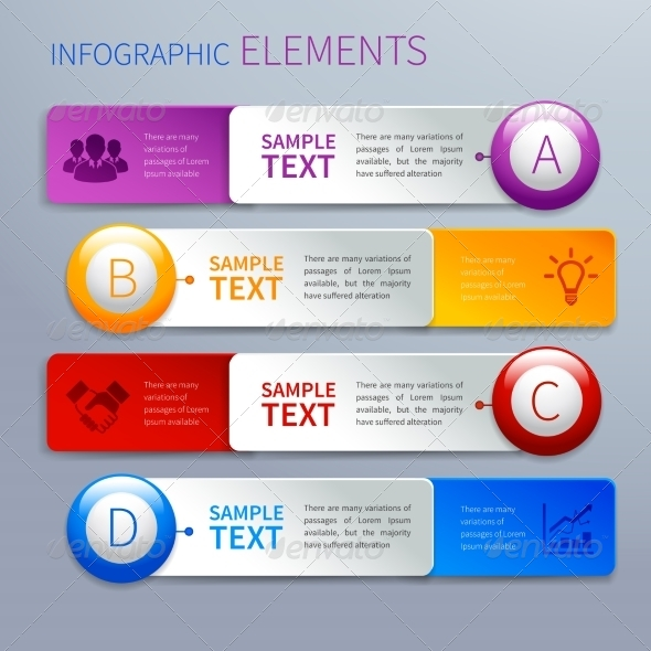 GraphicRiver Paper Infographics Option Banners 7373903