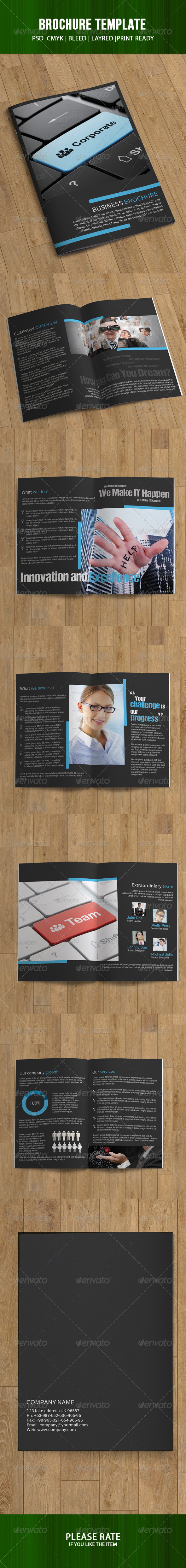 Business Brochure-12 Pages - Corporate Brochures